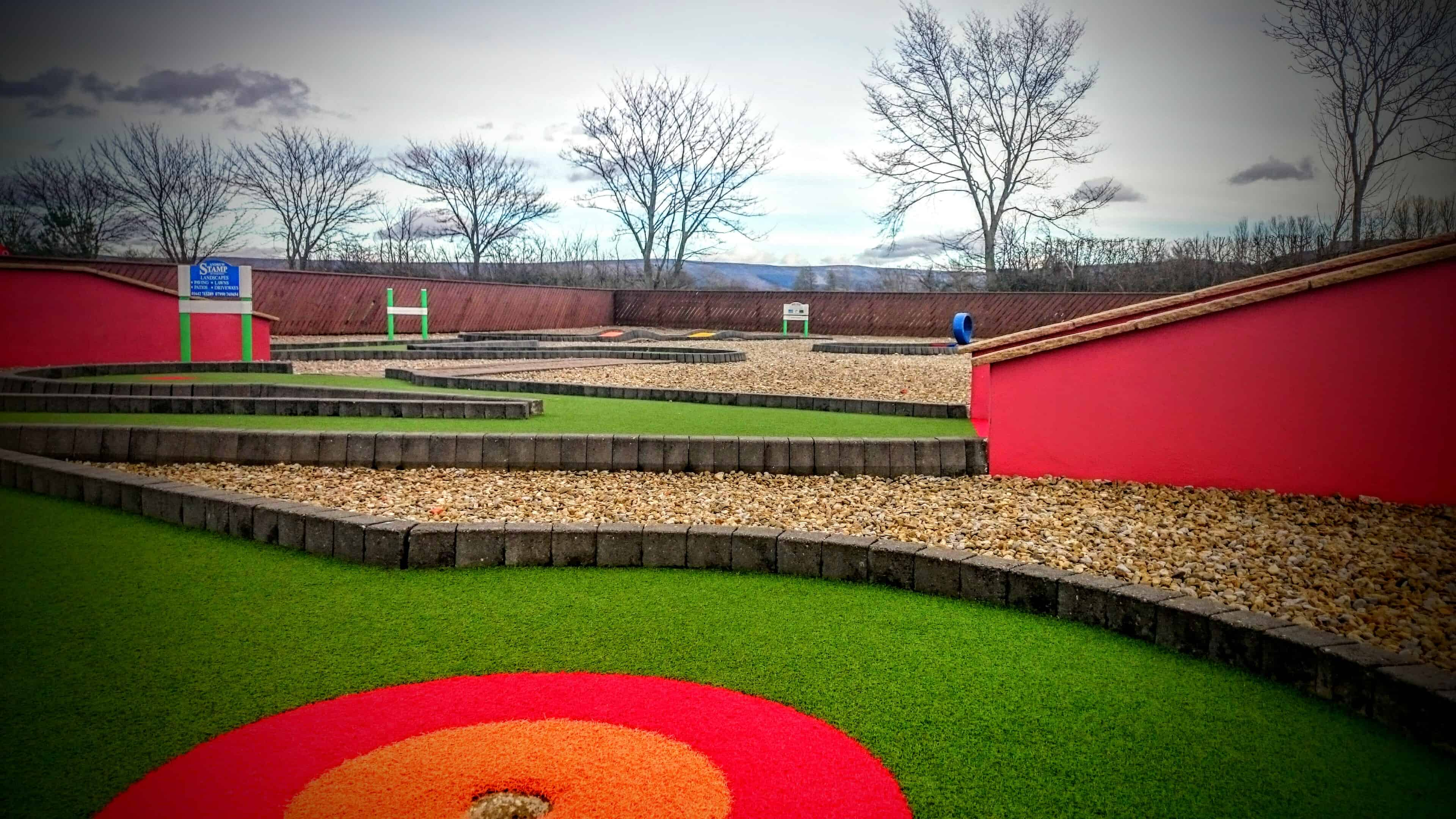 Crazy Golf per for Group Bookings