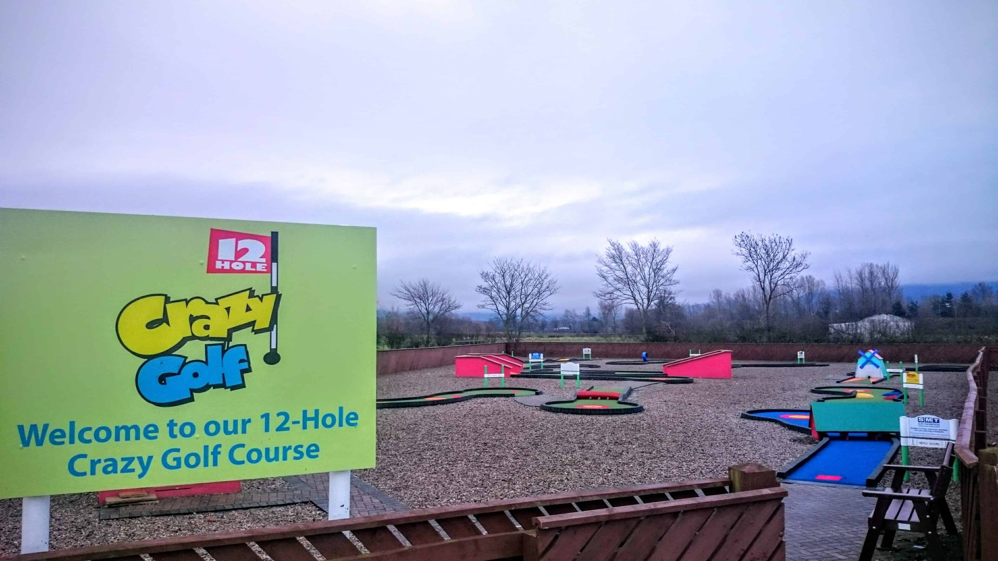Crazy golf Birthday Parties